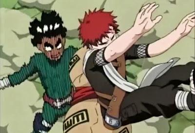 naruto ninjas anime accion manga