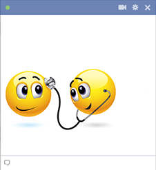 Doctor Emoticon for Facebook