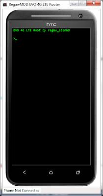 RegawMOD EVO 4G LTE Rooter သံုးၿပီး HTC EVO 4G LTE ကို Root နည္း