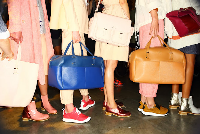 Karen Walker x Benah 2014 New York Runway Show Bag Collection