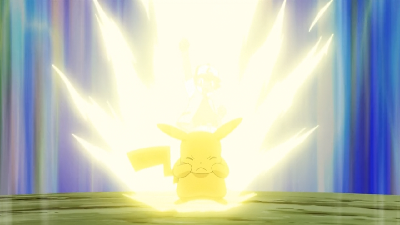Pikachu Thunderbolt - ...