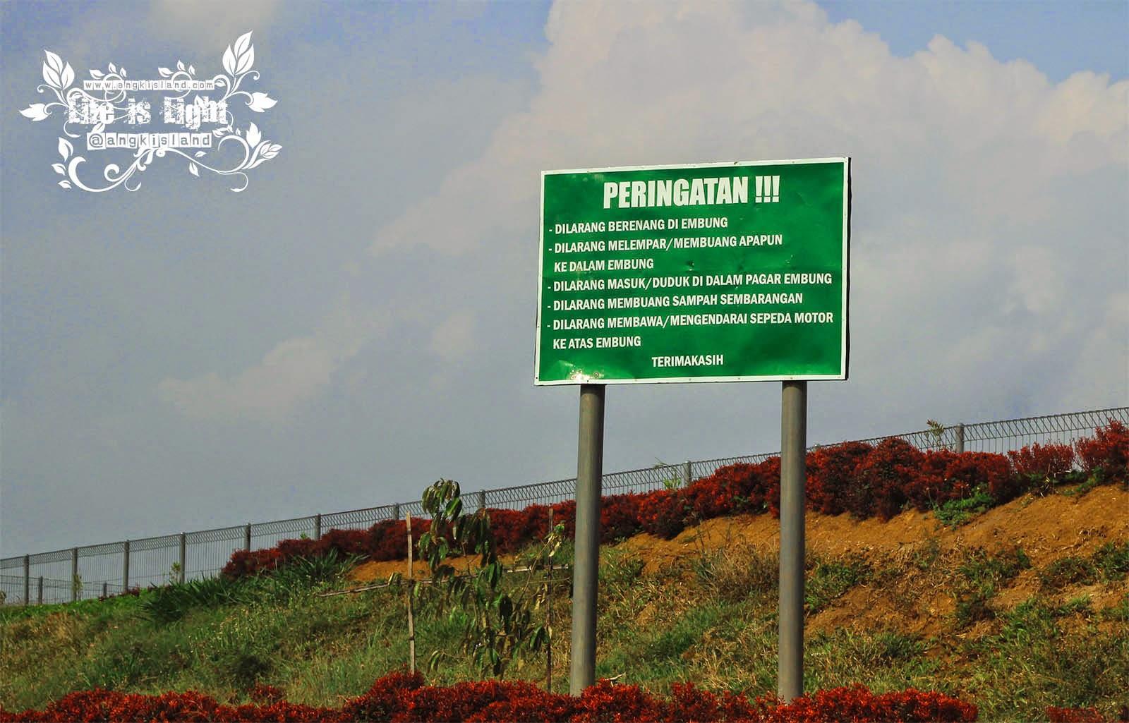 peringatan embung Banjaroya