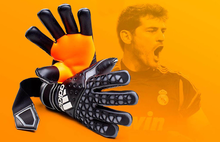 Adidas Ace Zones Iker Casillas GK gloves 2015