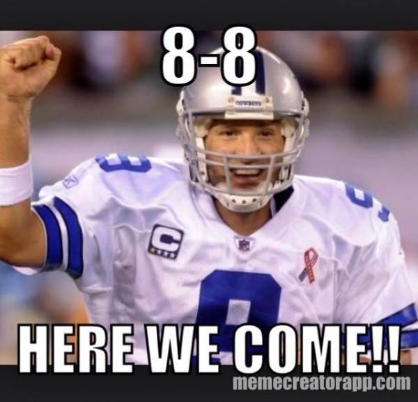 8-8 here we come!! #cowboys #tonyromo #88