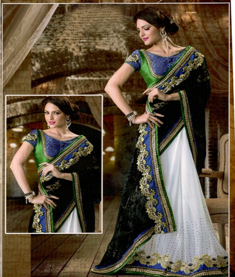 Fashion parade of the hottest sarees ever made