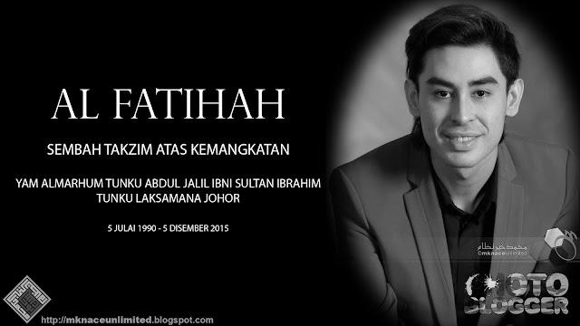 Tunku Laksamana Johor Tunku Abdul Jalil Sultan Ibrahim Mangkat