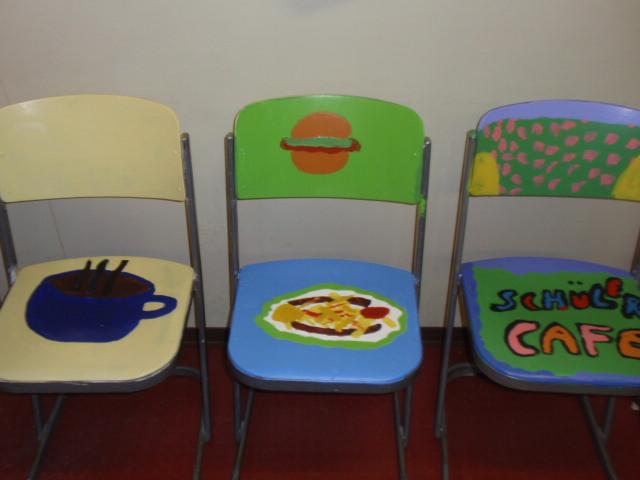 Stühle Bemalen take a stühle fertig bemalen