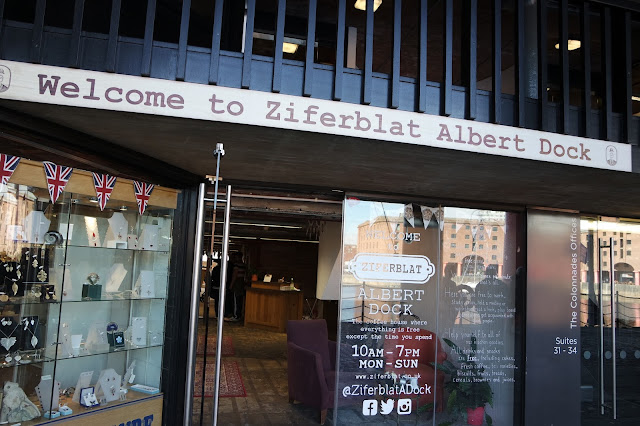 Ziferblat - Albert Dock, Liverpool - Cafe Review