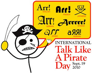 September 19, International Talk Like a Pirate Day