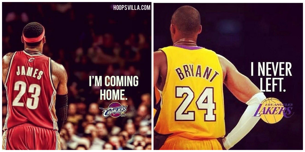 kobe bryant i never left james coming home loyalty meme hoopsvilla