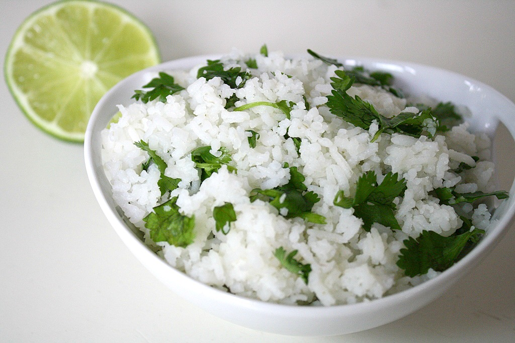 The Garden Grazer: Cilantro Lime Rice