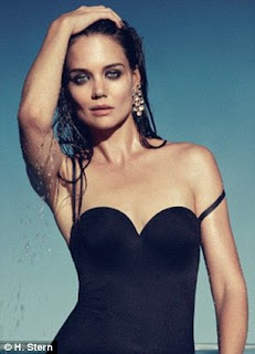 Katie Holmes and H.Stern Jewelry