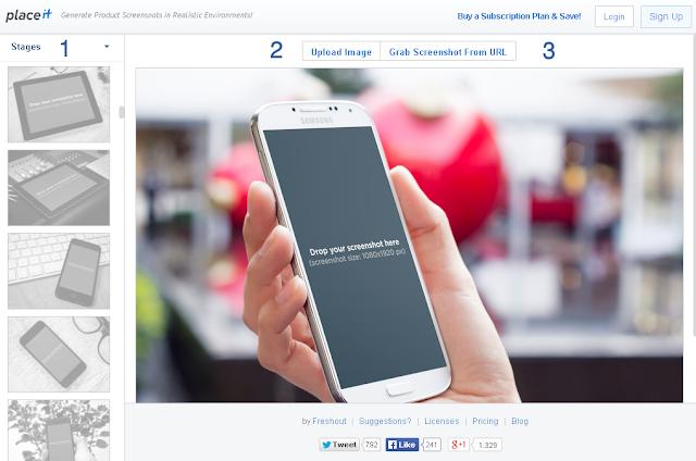 Cara Membuat Screenshot Template Blog Keren