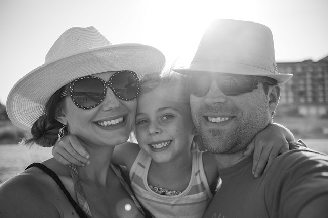 Amy West and family