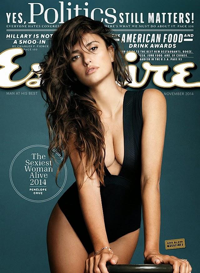 Penélope Cruz en Esquire Magazine noviembre 2014
