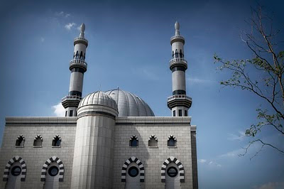 Photographs of Essalam mosque in Rotterdam - wallpaper of masjid besar essalam
