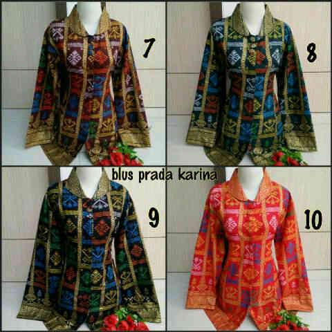 Aneka Model Baju Batik Modern Pria Dan Wanita Gamis Batik