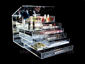 ICEbOX Clear Makeup Station