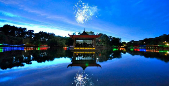 Spa Orchestra's annual gala evening in Peasholm Park