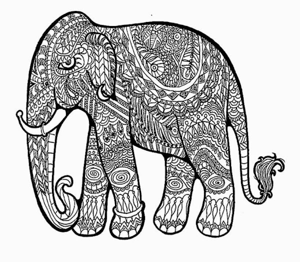 Printable Coloring Pages Patterns