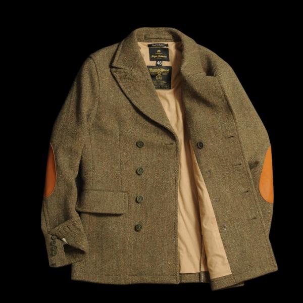 Nigel Cabourn Db Tweed Jacket Rare Classic Quality