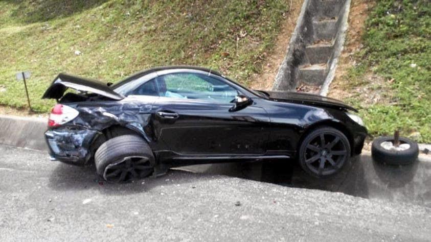kemalangan maut di jelapang terowong menora