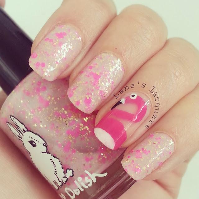 hare-polish-flight-of-the-flamingos-nail-art (2)