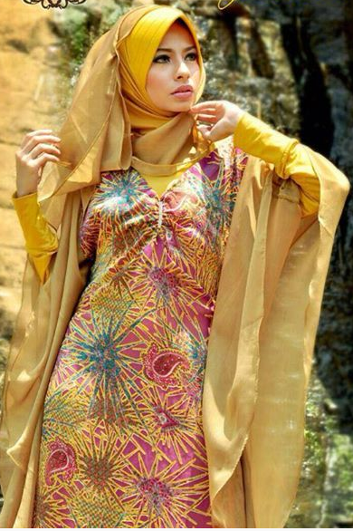 Fashion Model Hijab Modern Kebaya