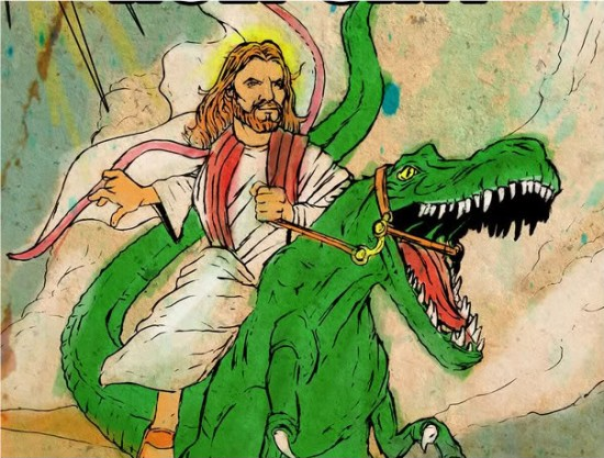Presidents Riding Dinosaurs Jesus rides dinosaurObama Riding A Dinosaur