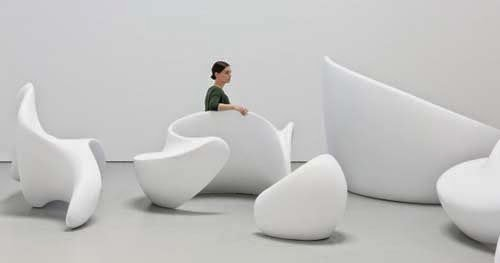 Furniture design ideas seating sculpture by Marie Khouri