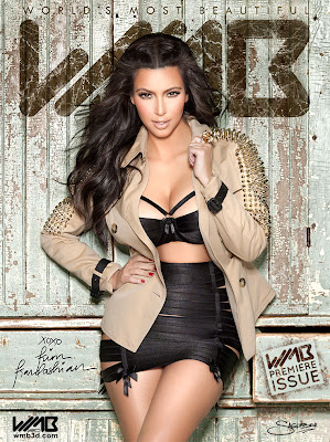 WMB-Issue-1-Cover-Kim-Kardashian-by-Nick-Saglimbeni1 >WMB (World's Most Beautiful) Magazine par Kim Kardashian