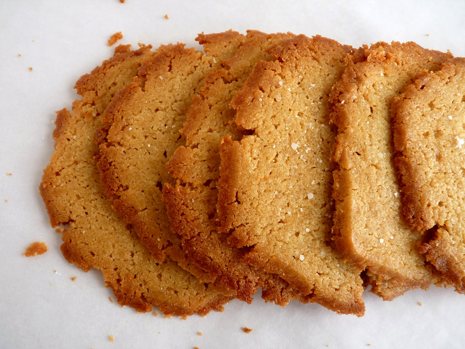 Pastry studio brown sugar semolina cookies with sea salt friday april 27 2012 forumfinder Choice Image