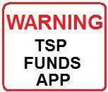 TSP Funds app