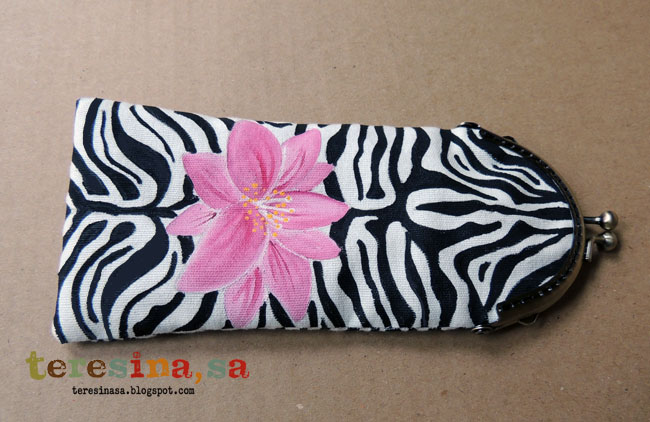 Funda gafas animal print