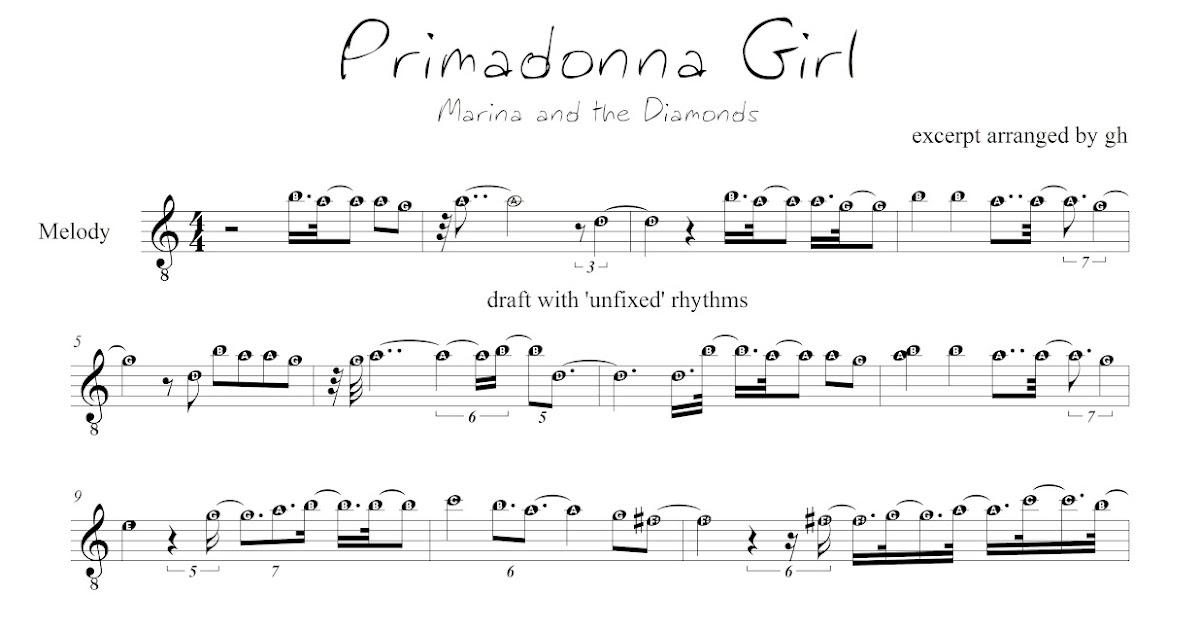 Primadonna Girl Chords