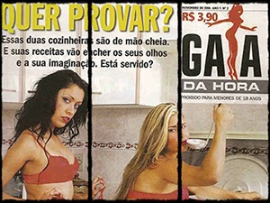 Gracy Kelly e Marcely Lira Na Revista Gata da Hora