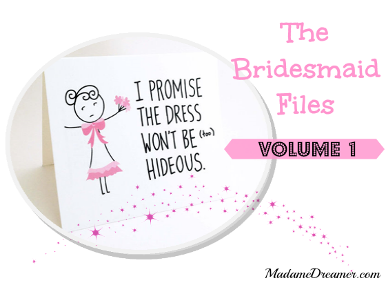 Bridesmaid, commitment, wedding
