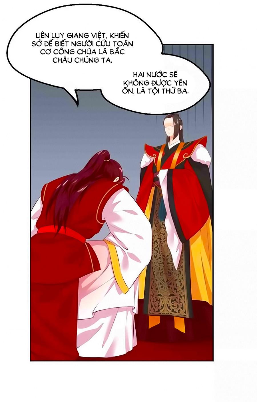 Thịnh Thế Đế Vương Phi - Chap 45