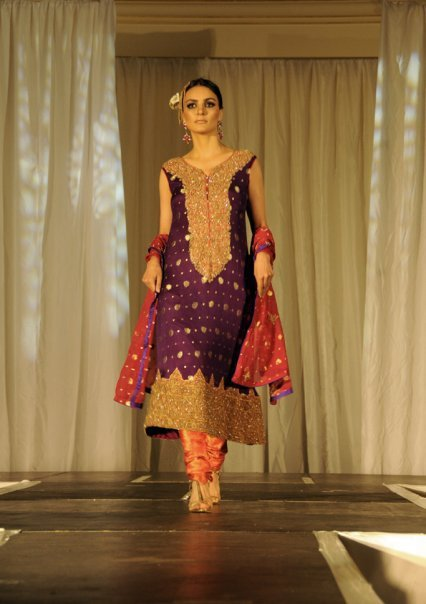 Indian Bridal Dresses | Anarkali Embroidery Designs - For Girls