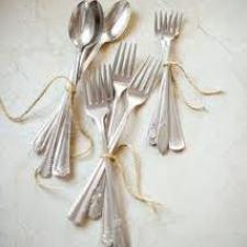 come-pulire-posate-argento