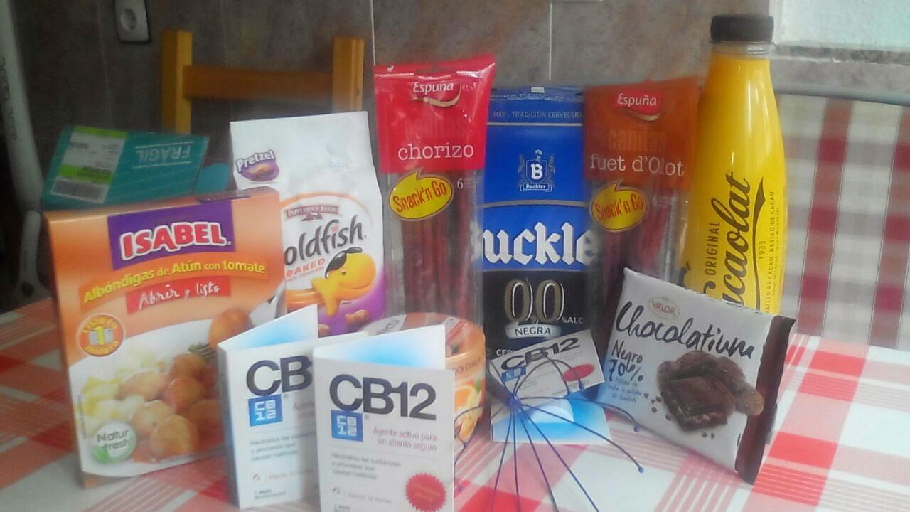caja alimentacion comida mensual disfrutabox cacaolat