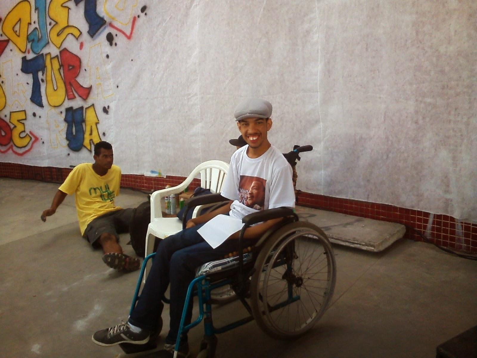 O Poeta Wagner Martins na sua primeira apresentação no movimento hip hop- BATALHA DOS GUARARAPES
