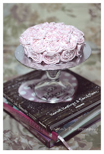 Lovely Rose Cake