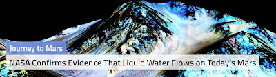 Liquid Water Flows on Mars – NASA Confirms Evidence