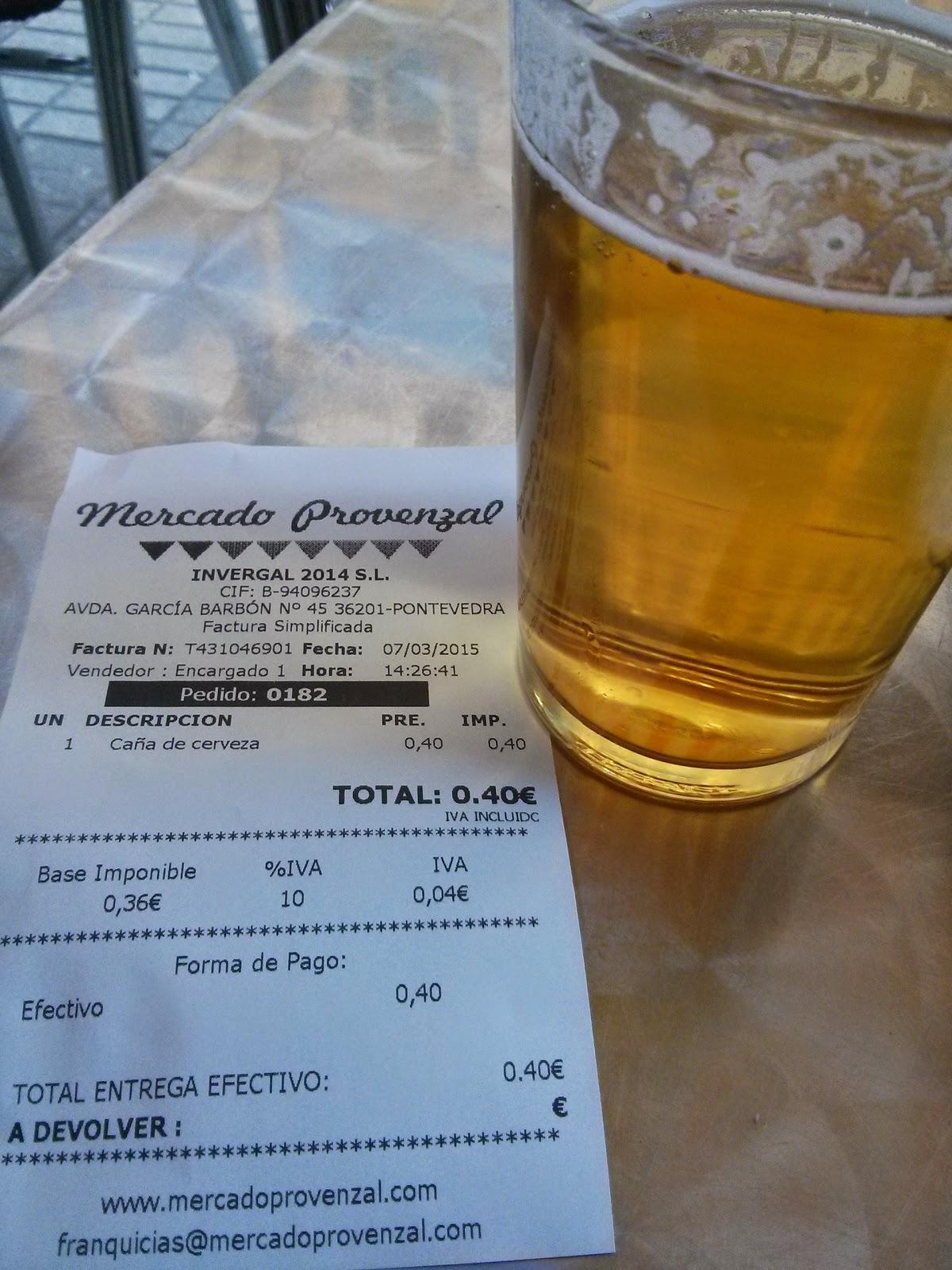 Cerveza mas barata de España