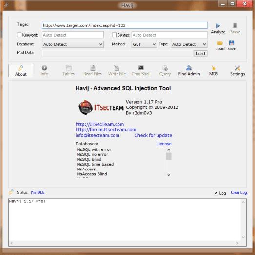 Havij 1.17 pro cracked download