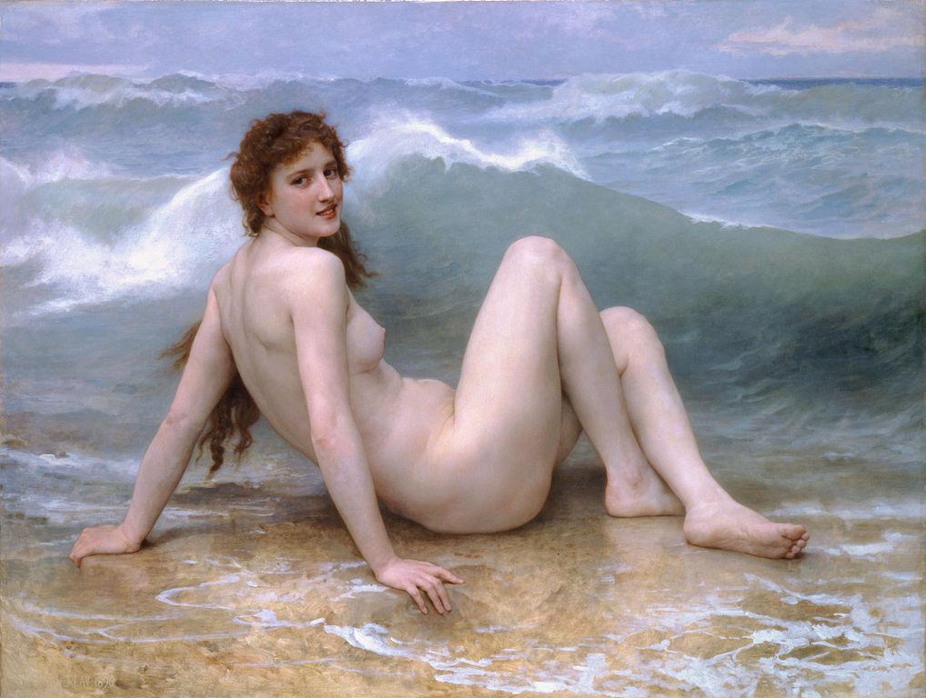 The Wave 1896. Óleo sobre tela