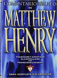 COMENTARIO BÍBLICO MATTHEW OBRA COMPLETA SIN ABREVIAR 13 TOMOS EN 1 - FRANCISCO LACUEVA