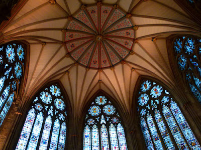 York Minster, Chapter House, cathedrals in England, Yorkshire, bit about Britain