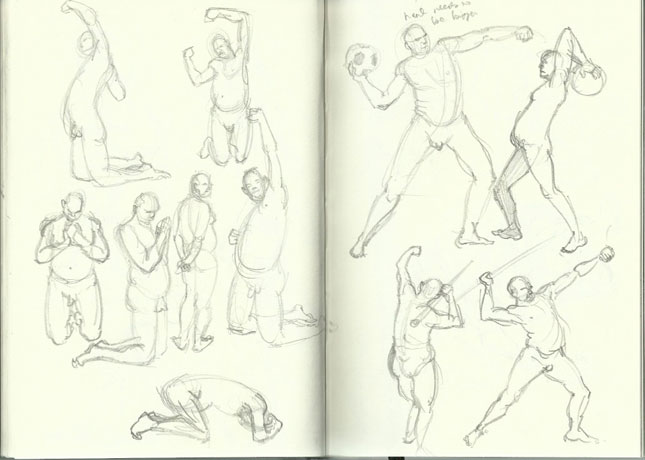 Ryan Sumo's Blog: Figure Drawing in Pencil 1
